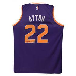 Deandre Ayton Signed Suns Nike Jersey (Game Day Legends COA  Steiner COA)