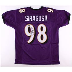 "Tony Siragusa Signed Ravens Jersey Inscribed ""XXXV"" (Radtke COA)"