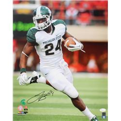 Le'Veon Bell Signed Michigan State Spartans 16x20 Photo (JSA COA)