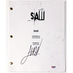"James Wan Signed ""Saw"" Full Movie Script (PSA COA)"