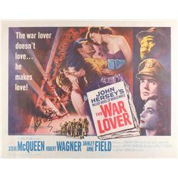 """Robert Wagner Signed Vintage 1962 """"The War Lover"""" 22x28 Movie Poster (JSA COA)"""