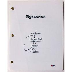 """Sara Gilbert Signed """"Roseanne"""" Full Pilot Episode Script (PSA COA)"""