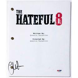 "Channing Tatum Signed ""The Hateful Eight"" Full Movie Script (PSA COA)"