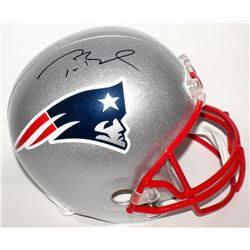 Tom Brady Signed New England Patriots Full-Size Helmet (Tristar Hologram  Fanatics Hologram)