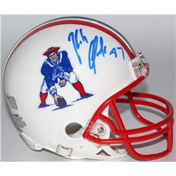 Rob Gronkowski Signed Patriots Mini Helmet (Radtke COA)