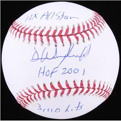Dave Winfield Signed OML Baseball with (3) Inscriptions (JSA COA)