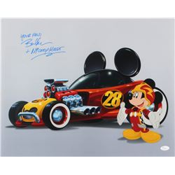 """Bret Iwan Signed """"Mickey Mouse"""" 16x20 Photo Inscribed """"Your Pals""""  """"Mickey Mouse""""(JSA COA)"""