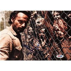"""Andrew Lincoln Signed """"The Walking Dead"""" 8x10 Photo (PSA COA)"""