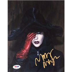 Marilyn Manson Signed 8x10 Photo (PSA COA)