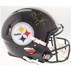Ben Roethlisberger Signed Steelers Full-Size Authentic On-Field Speed Helmet (Fanatics Hologram)