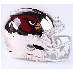 David Johnson Signed Cardinals Chrome Speed Mini-Helmet (Beckett COA)