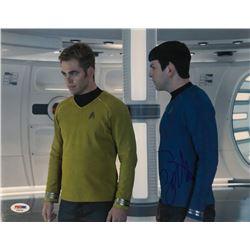 """Zachary Quinto Signed """"Star Trek Into Darkness"""" 11x14 Photo (PSA COA)"""