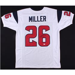 Lamar Miller Signed Texans Jersey (JSA COA)