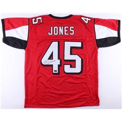Deion Jones Signed Falcons Jersey (Radtke COA)