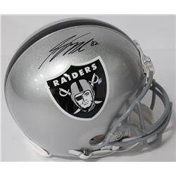 Jordy Nelson Signed Raiders Authentic On-Field Full-Size Helmet (Beckett COA)