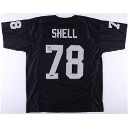 "Art Shell Signed Raiders Jersey Inscribed ""HOF 89"" (Radtke COA)"