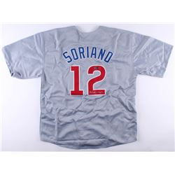 Alfonso Soriano Signed Cubs Jersey (Radtke COA)