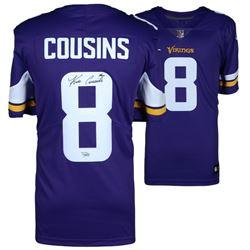 Kirk Cousins Signed Vikings Jersey (Fanatics Hologram)