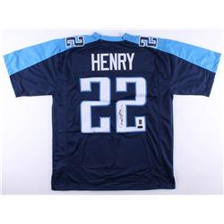 Derrick Henry Signed Titans Jersey (Radtke COA  Henry Hologram)
