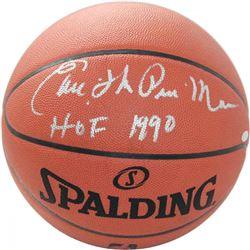 "Earl ""The Pearl"" Monroe Signed NBA Game Ball Inscribed ""HOF 1990"" (Steiner COA)"