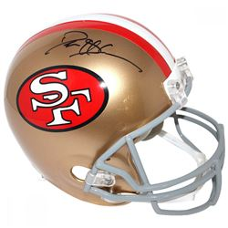 Deion Sanders Signed 49ers Full Size Helmet (Steiner COA)