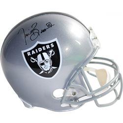 Tim Brown Signed Raiders Full-Size Helmet (Steiner COA)