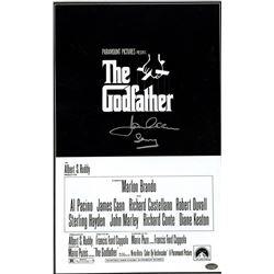 "James Caan Signed Godfather 11x17 Movie Poster Inscribed ""Sonny"" (Steiner COA)"