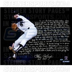 Goose Gossage Signed Yankees 16x20 Photo with Handwritten Story Inscription (Steiner COA)