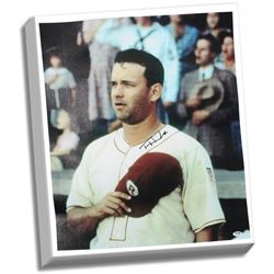 """Tom Hanks Signed """"A League of Their Own"""" 20x24 Canvas (PSA Hologram)"""