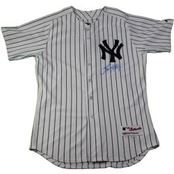 Tino Martinez Signed Yankees Jersey (MLB Hologram)