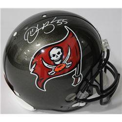 Derrick Brooks Signed Buccaneers Authentic On-Field Full-Size Helmet (JSA COA)