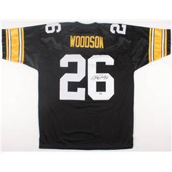 Rod Woodson Signed Steelers Jersey (Radtke COA)