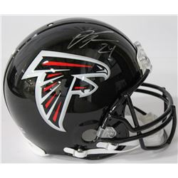 Devonta Freeman Signed Falcons Authentic On-Field Full-Size Speed Helmet (Radtke COA)