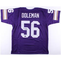 "Chris Doleman Signed Vikings Jersey Inscribed ""HOF 12"" (Radtke COA)"