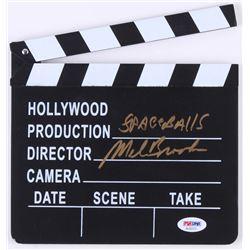 "Mel Brooks Signed ""Spaceballs"" Miniature Clapperboard (PSA COA)"