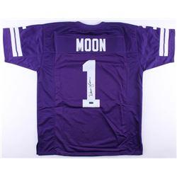 Warren Moon Signed Washington Huskies Jersey (Radtke COA)