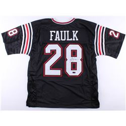 Marshall Faulk Signed San Diego State Aztecs Jersey (Radtke COA)