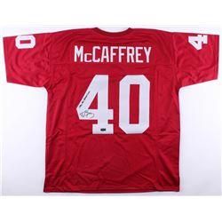 "Ed McCaffrey Signed Stanford Cardinal Jersey Inscribed ""1990 All American"" (Radtke COA)"