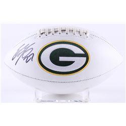 Eddie Lacy Signed Packers Logo Football (Radtke Hologram  Eddie Lacy Hologram)