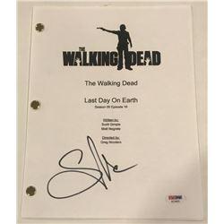 "Greg Nicotero Signed ""The Walking Dead"" Episode Full Script (PSA COA)"