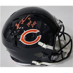"Brian Urlacher Signed Bears Authentic On-Field Full-Size Speed Helmet Inscribed ""HOF 2018"" (JSA COA)"