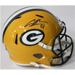 Charles Woodson Signed Packers Full-Size Speed Helmet (Beckett COA)