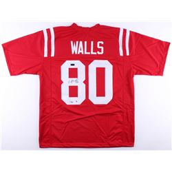 "Wesley Walls Signed Ole Miss Rebels Jersey Inscribed ""CHOF '14"" (Radtke COA)"