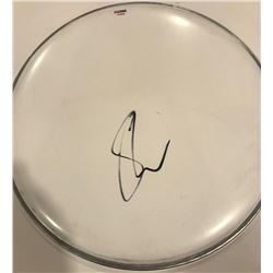 "Shawn Mendes Signed 12"" Drum Head (PSA COA)"