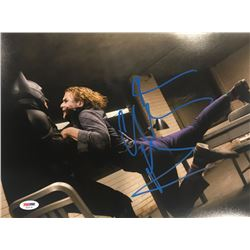 "Christian Bale Signed ""The Dark Knight"" 11x14 Photo (PSA COA)"
