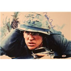 "Matthew Modine Signed ""Full Metal Jacket"" 12x18 Photo (PSA COA)"
