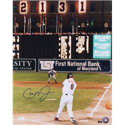 Cal Ripken Jr. Signed Baltimore Orioles 16x20 Photo (JSA COA)