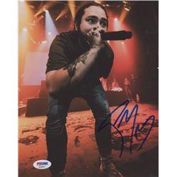 Post Malone Signed 8x10 Photo (PSA COA)