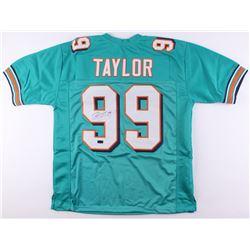 Jason Taylor Signed Dolphins Jersey (Radtke COA)