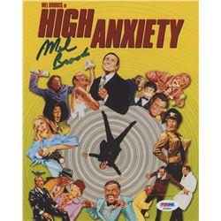 "Mel Brooks Signed ""High Anxiety"" 8x10 Photo (PSA COA)"